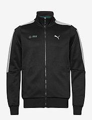 PUMA - MAPM T7 Track Jacket - podstawowe bluzy - puma black - 0