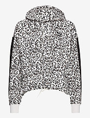 PUMA - Classics Cropped Hoody AOP - hupparit - vaporous gray-animal - 0