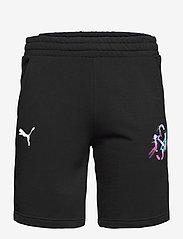 PUMA - NEYMAR JR CREATIVITY Logo Shorts - krótkie spodenki - puma black - 0
