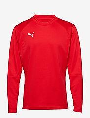 PUMA - LIGA Training Sweat - football shirts - puma red-puma white - 0