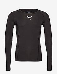 PUMA - LIGA Baselayer Tee LS - football shirts - puma black - 0