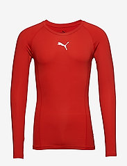 PUMA - LIGA Baselayer Tee LS - football shirts - puma red - 0