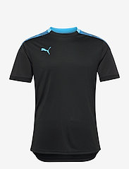 PUMA - ftblNXT Pro Tee - football shirts - puma black-luminous blue - 0