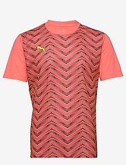 PUMA - ftblNXT Graphic Shirt Core - football shirts - nrgy peach-fizzy yellow - 0