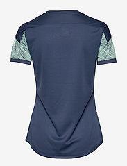 PUMA - ftblNXT Graphic Shirt W - football shirts - dark denim-mist green - 1