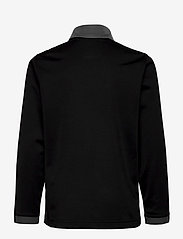 PUMA - ftblPLAY 1/4 Zip Top Jr - sweatshirts - puma black-asphalt - 1
