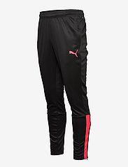 PUMA - teamLIGA Training Pants - sportbyxor - puma black-sunblaze - 2