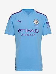 PUMA - MCFC HOME Shirt Replica SS with  Sponsor Logo - football shirts - team light blue-tillandsia purple - 0
