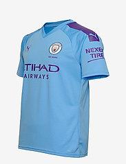 PUMA - MCFC HOME Shirt Replica SS with  Sponsor Logo - football shirts - team light blue-tillandsia purple - 2