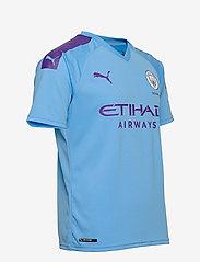PUMA - MCFC HOME Shirt Replica SS with  Sponsor Logo - football shirts - team light blue-tillandsia purple - 3