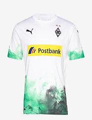 PUMA - BMG Home Shirt Replica with sponsor - football shirts - puma white-bright green - 0