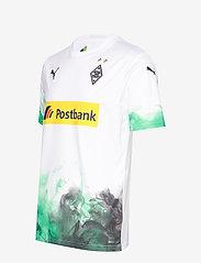 PUMA - BMG Home Shirt Replica with sponsor - football shirts - puma white-bright green - 2