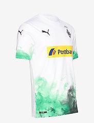 PUMA - BMG Home Shirt Replica with sponsor - football shirts - puma white-bright green - 3