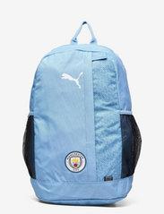 PUMA - MCFC ftblCORE Backpack Plus - training bags - team light blue-puma white - 0