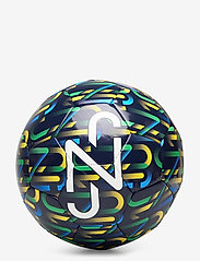 PUMA - NJR Fan Graphic ball - voetbaluitrusting - peacoat-dandelion-jelly bean-white - 0