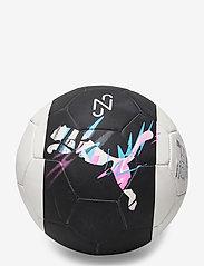 PUMA - Neymar Jr Logo ball - fotballutstyr - peacoat-puma white-puma red - 0