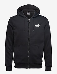 PUMA - ESS FZ Hoody FL - hoodies - puma black - 0