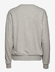PUMA - ESS Logo Crew Sweat TR - svetarit - light gray heather - 1