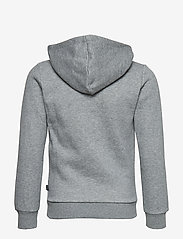 PUMA - ESS Logo Hooded Jacket FL B - kapuzenpullover - medium gray heather - 1