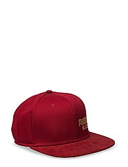 ARCHIVE Suede cap - RED DAHLIA