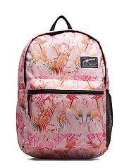 PUMA Academy Backpack - PALE PINK-JUNGLE AOP