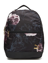 PUMA x KENZA Lux Backpack - PUMA BLACK-GOLD-AOP