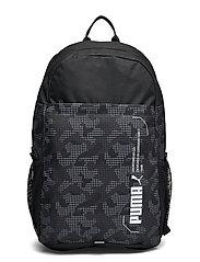 PUMA Style Backpack - PUMA BLACK-CAMO AOP