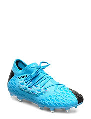 FUTURE 5.3 NETFIT FG/AG Jr - LUMINOUS BLUE-NRGY BLUE-PUMA BLACK-