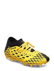 FUTURE 5.3 NETFIT FG/AG Jr - ULTRA YELLOW-PUMA BLACK
