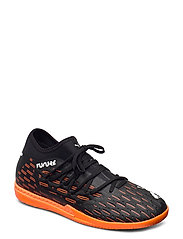 FUTURE 6.3 NETFIT IT - PUMA BLACK-PUMA WHITE-SHOCKING ORAN
