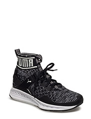 IGNITE evoKNIT Wn's - PUMA BLACK-QUIET SHADE-PUMA WHITE