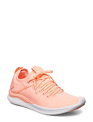 IGNITE Flash evoKNIT Wn's - BRIGHT PEACH-PUMA WHITE