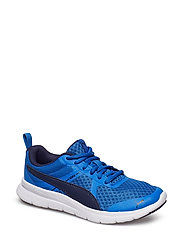 PUMA Flex Essential Jr - STRONG BLUE-PEACOAT