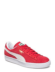 Suede Classic+ - HIGH RISK RED-WHITE