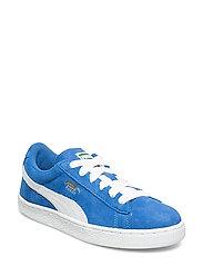 Suede Jr - SNORKEL BLUE-WHITE