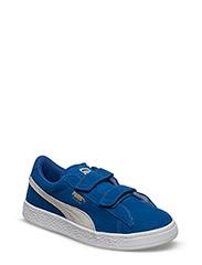 Suede 2 straps PS - SNORKEL BLUE-PUMA WHITE