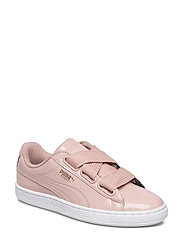 Basket Heart Patent Wn's - PEACH BEIGE-PUMA WHITE