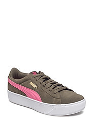 Puma Vikky Platform - OLIVE NIGHT-RAPTURE ROSE