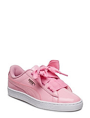 Basket Heart Patent Jr - PRISM PINK-PEACOAT-GOLD-PUMA WHITE
