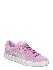 Suede Classic Jr - ORCHID-GRAY VIOLET-PUMA TEAM GOLD