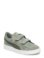 Suede Classic V PS - LAUREL WREATH – FOREST NIGHT – PUMA TEAM GOLD