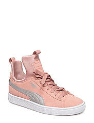 Suede Fierce Jr - PEACH BEIGE-METALLIC BEIGE