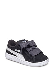 Puma Smash v2 Ribbon AC Inf - PUMA BLACK-PUMA WHITE