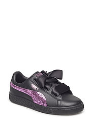 Basket Heart Bling PS - PUMA BLACK-ORCHID
