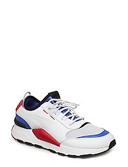 RS-0 SOUND - PUMA WHITE-DAZZLING BLUE-HIGH RISK RED