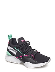 Muse Maia Street 1 Wns - PUMA BLACK-KNOCKOUT PINK-BISCAY GREEN