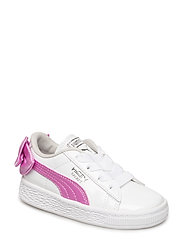Basket Bow Patent AC Inf - PUMA WHITE-ORCHID-GRAY VIOLET