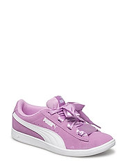 Puma Vikky Ribbon Jr - ORCHID-PUMA WHITE