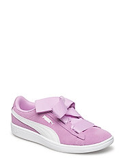 Puma Vikky Ribbon AC PS - ORCHID-PUMA WHITE