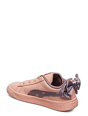 Puma Basket Bow Dots AC Inf sneakers, peach, 5